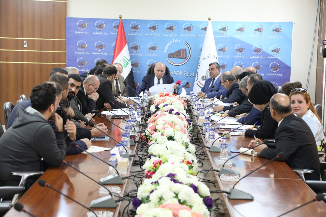 During the meeting of the Supreme Steering Committee for the project of treatment of slums .. Ministry of Planning to review its readiness to conduct a comprehensive survey of random communities in Iraq 15414834461b6e743687b68c0906ba065feb92d549--WhatsApp_Image_2018-11-06_at_7