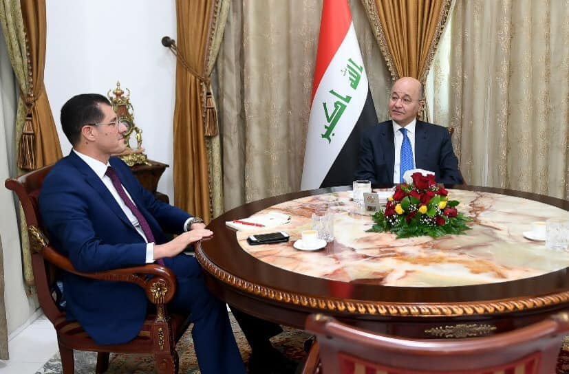 During his meeting with the President of the Republic Dr. Barham Saleh .. Dr. Nuri al-Dulaimi: Ministry of Planning has begun the actual preparations for the implementation of the next strategic plans 1546882160bc374dbedbd5805073834ea5f97ad1c8--49761453_2479468048946737_3143536754930221056_n