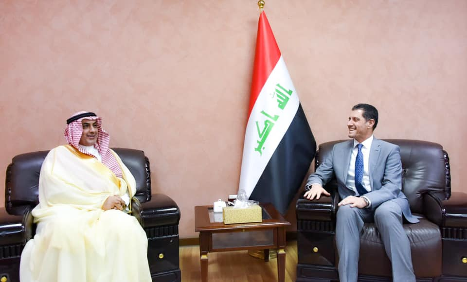 Minister of Planning discusses with the Saudi ambassador means of enhancing bilateral relations between the two countries 156275841872e2bb88db0fd99b8144d155a283c1bf--66405469_2612521945641346_8172007280229744640_n