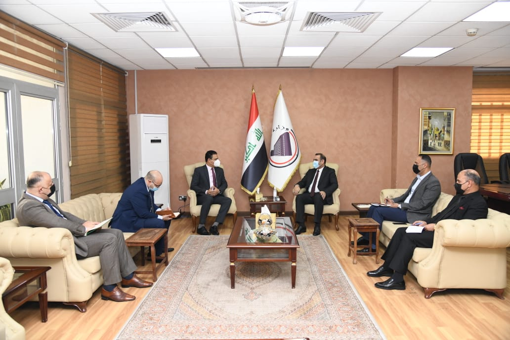 The Minister of Planning receives the new Egyptian ambassador to Iraq 1613466230447c875294606cae131ce15d1c696e1c--2020
