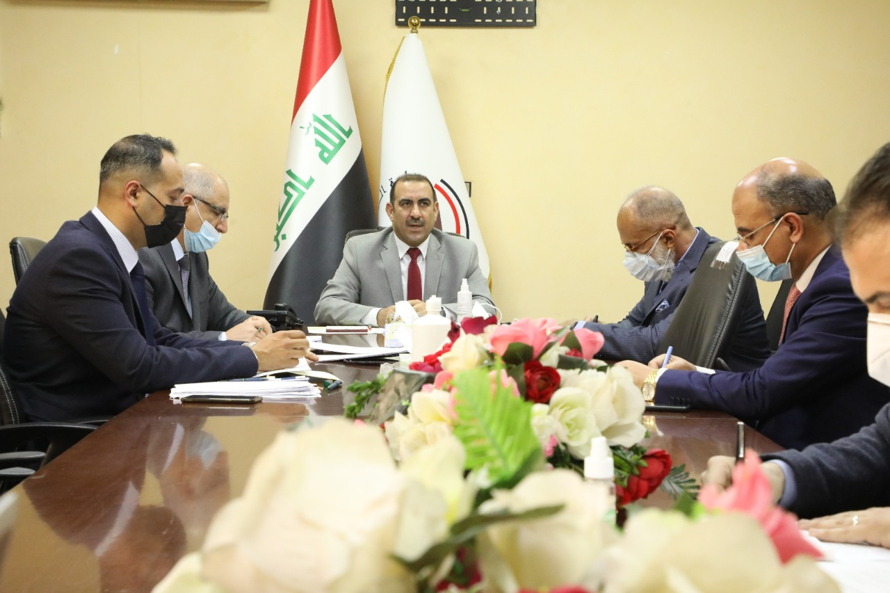 With the participation of representatives of the World Bank and a number of donor countries ... the Minister of Planning chairs the sixth meeting of the Steering Committee of the Recovery and Reconstruction Fund 16135867252382c2c296bbf143e508ae422db713d6--WhatsApp_Image_2021-02-17_at_7