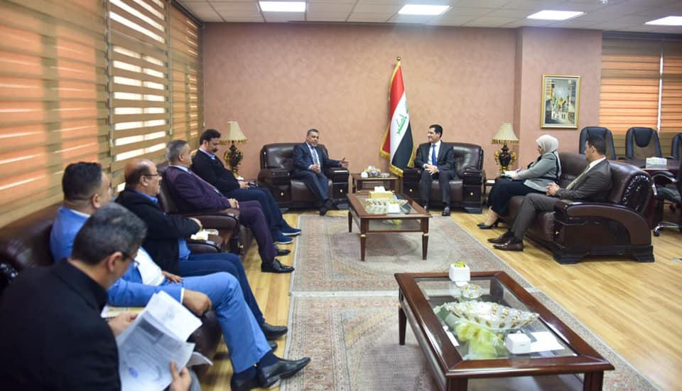 The Minister of Planning discusses with the local Baghdad government ways to improve the reality of services and enhance joint cooperation 1582612821805de81da4e10c2299660bd810c05335--%D9%85%D8%AD%D8%A7%D9%81%D8%B8_%D8%A8%D8%BA%D8%AF%D8%A7%D8%AF