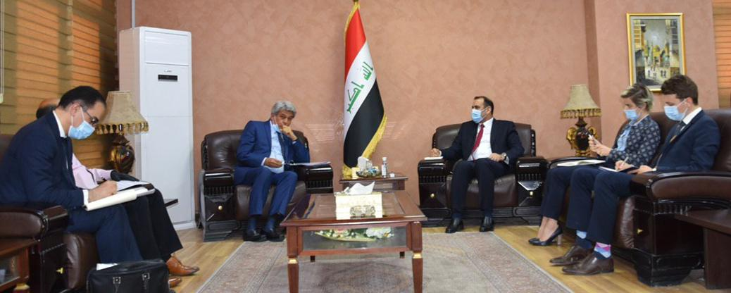 The Minister of Planning meets the French ambassador to Iraq and discusses with him ways of developing joint cooperation between the two countries 1591213890216fdb2d6caed4d053e0dc4396c039b5--%D8%A7%D9%84%D8%B3%D9%81%D9%8A%D8%B1_%D8%A7%D9%84%D9%81%D8%B1%D9%86%D8%B3%D9%8A