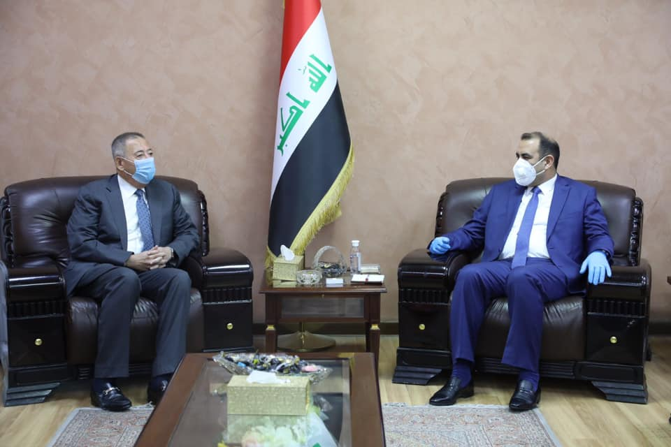 Foreign Minister Fouad Hussein meets his Jordanian counterpart in Baghdad 15934797966178612b337152cee1bd82b34864ceb9--%D8%A7%D9%84%D8%B3%D9%81%D9%8A%D8%B1_%D8%A7%D9%84%D8%A7%D8%B1%D8%AF%D9%86%D9%8A