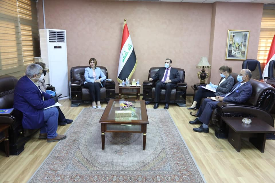 The Minister of Planning discusses with the Minister of Immigration and the United Nations Representative for Humanitarian Affairs, national and international efforts to end the issue of the displaced 159916669713728dd712ab9ca407ee8c30a3f8a566--%D9%88%D8%B2%D9%8A%D8%B1%D8%A9_%D8%A7%D9%84%D9%87%D8%AC%D8%B1%D8%A9