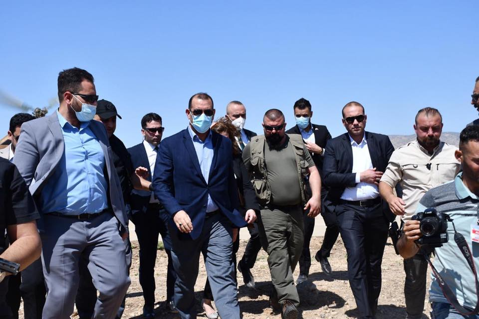 The Minister of Planning, Prof. Dr. Khaled Battal Al-Najm, accompanied by the Minister of Immigration and Displacement, Evan Faeq, arrive in Nineveh Governorate 15996588717b3c633ce2485baa9f2a7b652170aea9--%D9%81%D9%8A_%D9%86%D9%8A%D9%86%D9%88%D9%89