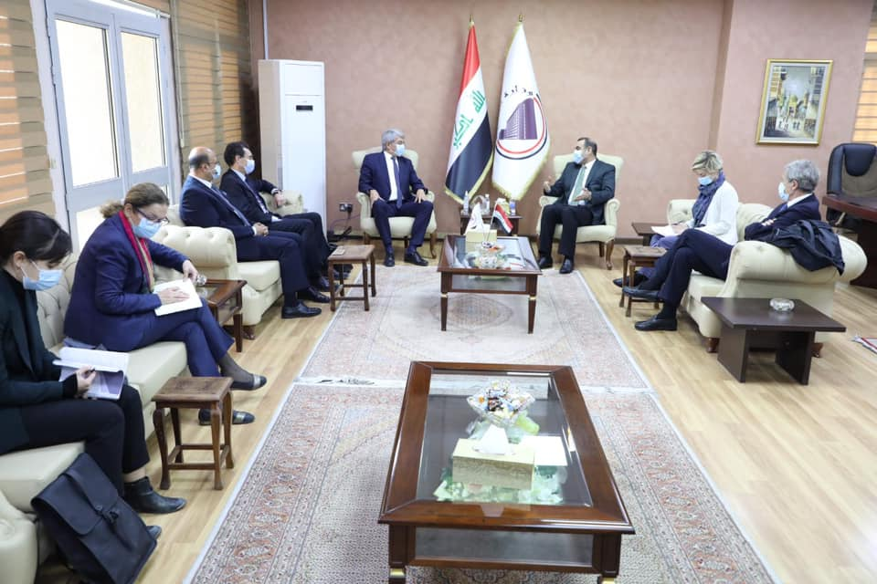 During his meeting with the French ambassador and his accompanying delegation .. the Minister of Planning announces the inclusion of the suspended Baghdad train project within the investment budget for 2021 160638929985fa4264ddb263340bf7d6d2a2f90225--%D8%A7%D9%84%D8%B3%D9%81%D9%8A%D8%B1_%D8%A7%D9%84%D9%81%D8%B1%D9%86%D8%B3%D9%8A