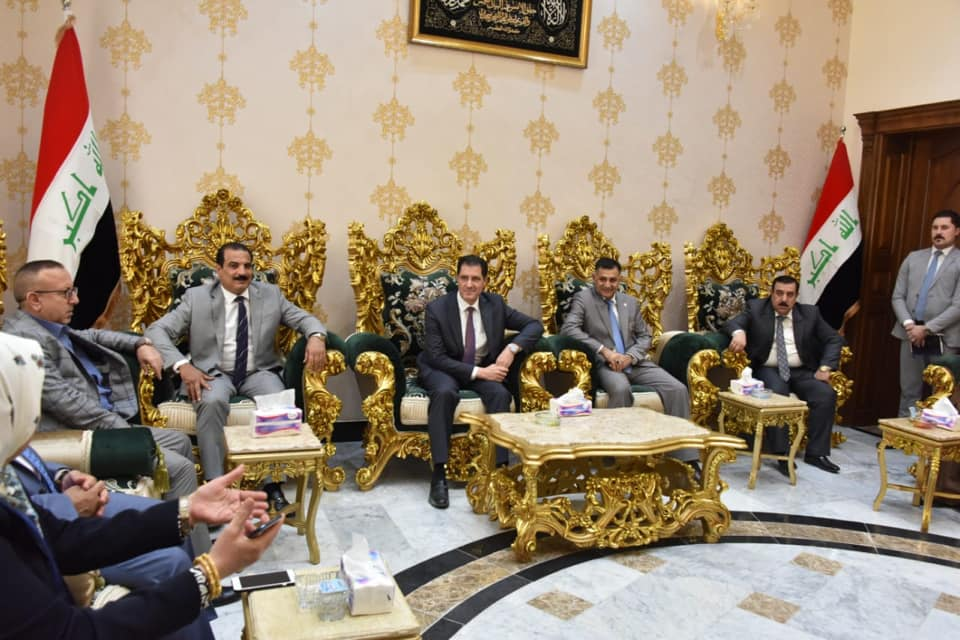 Minister of Planning inspecting the service reality in Anbar province and laying the foundation stone for an investment hospital in the province 156484174550b460f9427609f218a2067e18fd6a1d--%D8%A7%D9%84%D8%A7%D9%86%D8%A8%D8%A7%D8%B1