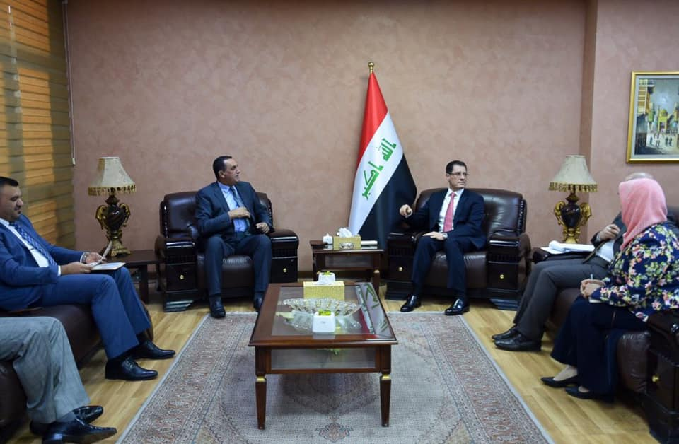 The Minister of Planning discusses the efforts to rebuild the affected areas in Kirkuk Governorate with MP Khaled Al-Mufriji 1576605408569757f34b05a8def56f6ddbb4406f08--%D9%85%D8%AD%D8%A7%D9%81%D8%B8_%D9%83%D8%B1%D9%83%D9%88%D9%83