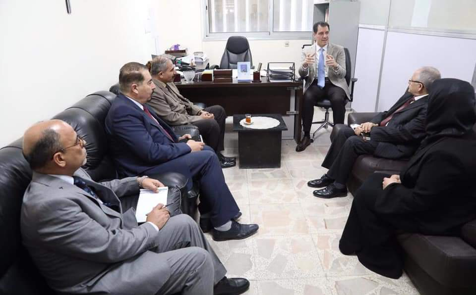 Minister of Planning announces the completion of the first phase of the electronic bag project for government contracts 1550684112a6c39b81e929d60d9a7e62092b6694ff--WhatsApp_Image_2019-02-20_at_8