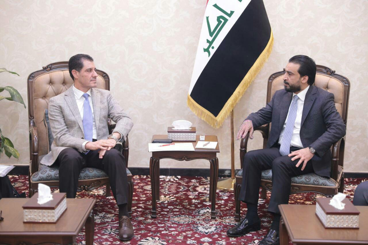 Halabousi is discussing with the Minister of Planning the reconstruction projects of liberated areas 15507738450939cc23b820a488eec450b9f4f5e8e2--WhatsApp_Image_2019-02-21_at_9