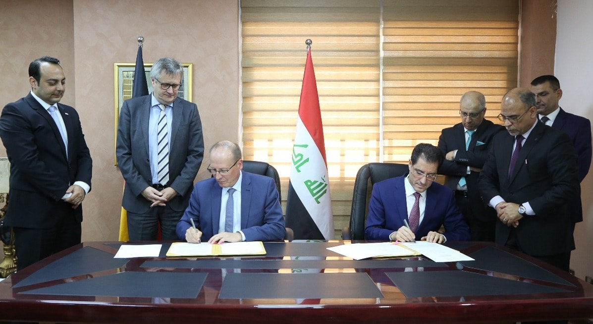 Minister of Planning signs MoU with German Agency for International Development to promote decentralization 1556126034115b2c6a4a7d2c4bf4d62e66aa2973ca--58376567_2552633101630231_6990580726219407360_o