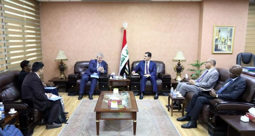 Minister of Planning discusses humanitarian issue with UNICEF Representative in Iraq 1548740477bde50c5ff38f972a04b3661c4c1bf6d9--50887235_2494115297482012_7551382268279783424_n