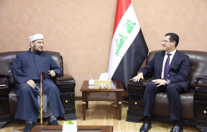 Minister of Planning discusses the role of the religious institution in sustainable development with a delegation from the Iraqi jurisprudence 15531947729359f37864c8c5b7f9bf9c93f53bed92--%D8%A7%D9%84%D9%81%D9%82%D9%87%D9%8A