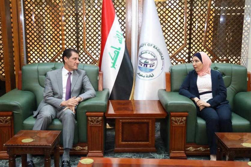 During his visit to the Secretariat of Baghdad and inspect the field of a number of service projects .. Minister of Planning: We agreed to set priorities for implementation in accordance with the allocations available and work on the transfer of possible  1557692110cab32ed944cc2fb0980f3243cdc0eb66--%D8%A7%D9%85%D8%A7%D9%86%D8%A9_%D8%A8%D8%BA%D8%AF%D8%A7%D8%AF