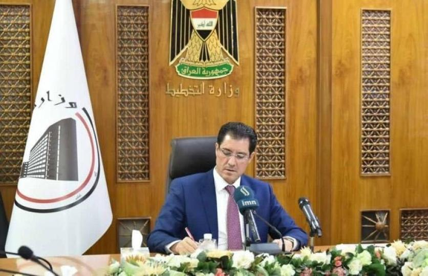 Minister of Planning approves the release of 30% of the dues of the contractors of Anbar province 155804213653efc592f6d2135fe9516b3d138e002a--E49130A1-CECC-4571-982D-F8DB1112521B