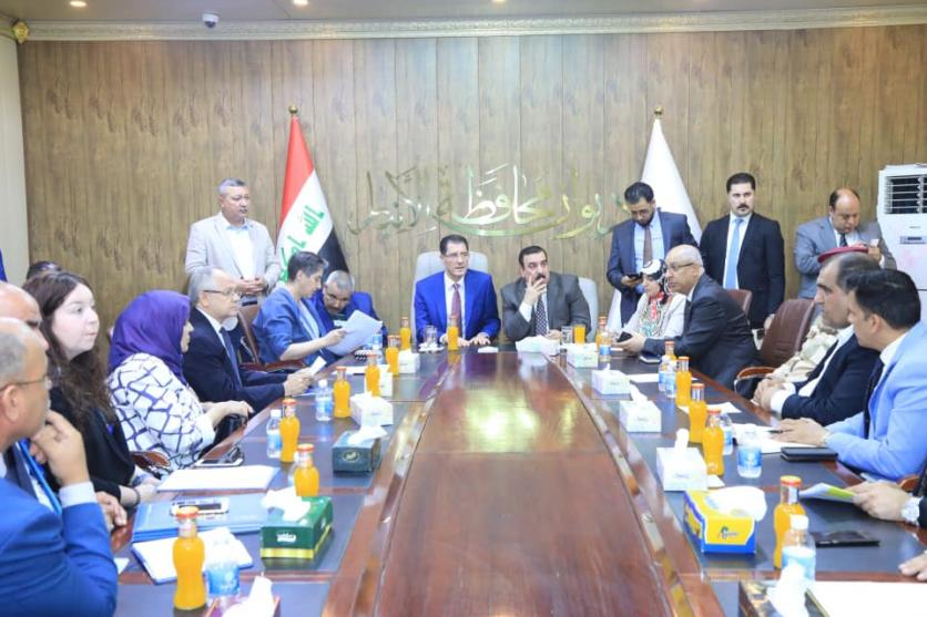 From Anbar province .. Minister of Planning: We are working to unite the efforts of the central and local governments and international efforts to restore stability and reconstruction of the province 156221745271e124b98aa8dcaa48ad44c5cb03ec6f--65661903_2607562596137281_5043528375696621568_n