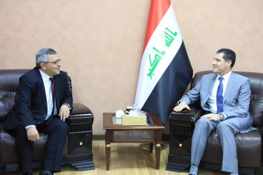 Minister of Planning receives the Armenian Ambassador to Iraq 1562774016d74b874fb04604678b3426689737fb20--66476293_2612547572305450_4920530811670757376_n
