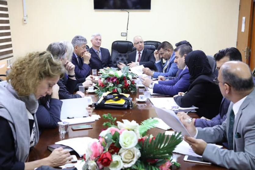 Ministry of Planning, EU and World Bank discuss reconstruction and development efforts in ... 1553588199fc239dfc8b4f49e40bc6cc7825f4c8cb--55615897_2532690143624527_896617050590412800_n