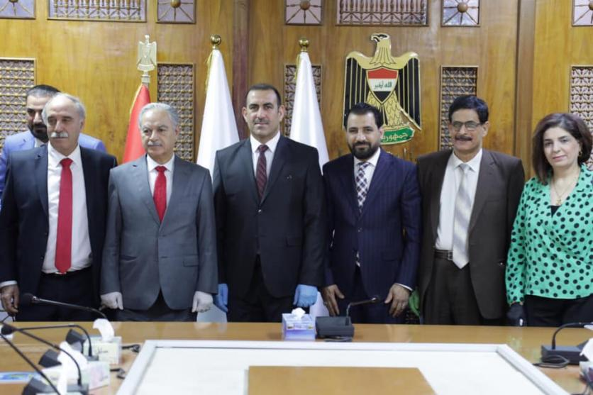 The Minister of Planning meets the heads of the Iraqi trade unions, and discusses with them the reality of the labor market in Iraq 158940105003fed4a9b612be40c9e217039b2266f1--%D8%A7%D9%84%D9%86%D9%82%D8%A7%D8%A8%D8%A7%D8%AA