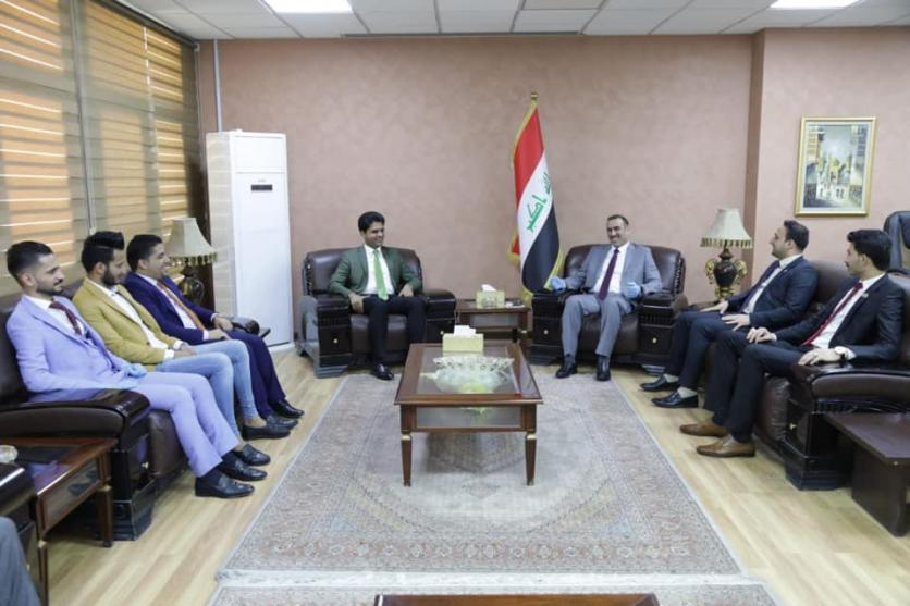 """During his meeting with the president and members of the """"Hamm Al-Taleb"""" youth organization .. Minister of Planning: The youth segment represents a first priority within the Ministry's strategic plans 15897359025d4e9461937539705c0bd1adc515bf0c--%D9%87%D9%85%D9%85"""