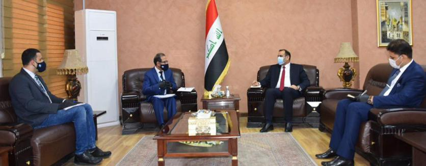 The Minister of Planning discusses with the (Habitat) in Iraq the mechanisms of treating informal housing and rebuilding the houses destroyed by terrorism 15912140933ef998dd0b5e032d17919704eb535e2f--%D9%87%D8%A8%D8%AA%D8%A7%D8%AA