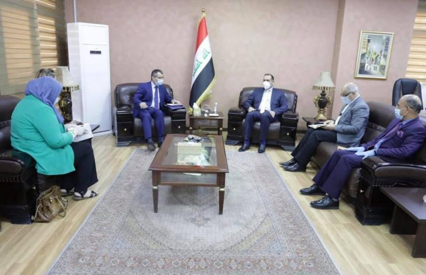 The Minister of Planning discusses with the Ambassador of the European Union the means of joint cooperation and support of the efforts of the Iraqi government in facing the Corona pandemic. 159300294548d0ce99a3f7be4f8e1553794d460c74--%D8%B3%D9%81%D9%8A%D8%B1_%D8%A7%D9%84%D8%A7%D8%AA%D8%AD%D8%A7%D8%AF_%D8%A7%D9%84%D8%A7%D9%88%D8%B1%D8%A8%D9%8A