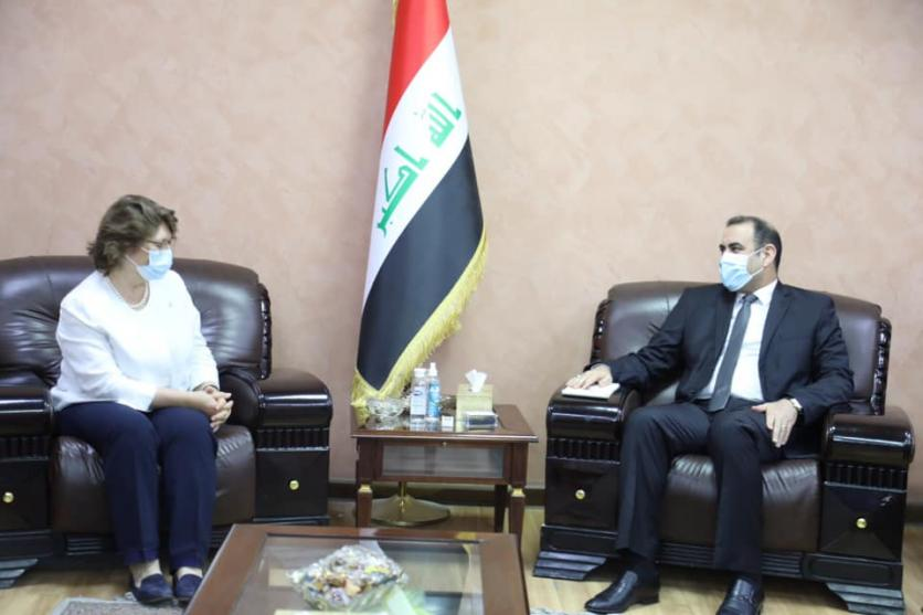 The Minister of Planning discusses with the Deputy Resident Representative of the United Nations for Humanitarian Affairs, support for the Iraqi government's efforts to confront the Corona pandemic and address the issue of the displaced 1597779202cd1a7289bfdf2e980fec77b56bea989f--%D8%A7%D9%84%D8%A7%D9%85%D9%85_%D8%A7%D9%84%D9%85%D8%AA%D8%AD%D8%AF%D8%A9_%D9%84%D9%84%D8%B4%D8%A4%D9%88%D9%86_%D8%A7%D9%84%D8%A7%D9%86%D8%B3%D8%A7%D9%86%D9%8A%D8%A9