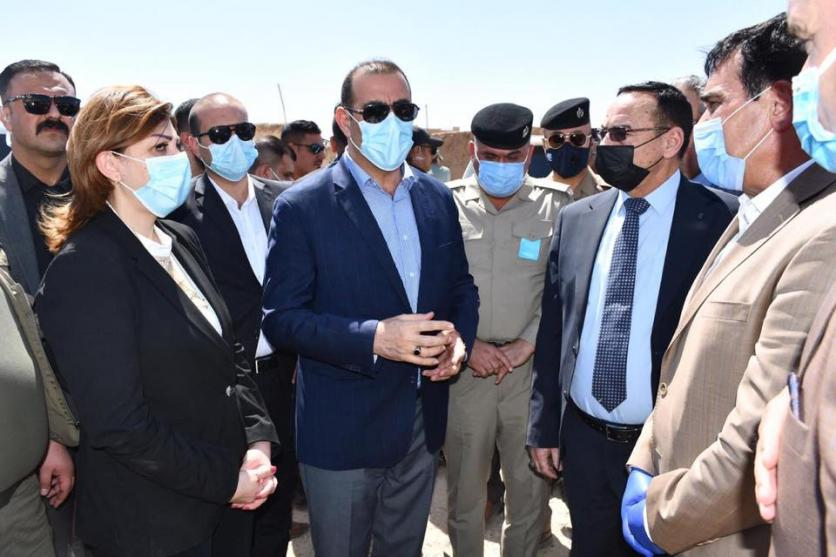 The Minister of Planning, Prof. Dr. Khaled Battal Al-Najm, accompanied by the Minister of Immigration and Displacement, Evan Faeq, arrive in Nineveh Governorate 159966004951a54f95e1dd4a869fc543edfc6b3684--%D9%86%D9%8A%D9%86%D9%88%D9%891