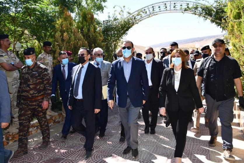 The Minister of Planning, Prof. Dr. Khaled Battal Al-Najm, accompanied by the Minister of Immigration and Displacement, Evan Faeq, arrive in Nineveh Governorate 1599660194025b05e3830e27ea5ba01a8d86451411--%D9%85%D9%83%D8%AA%D8%A8_%D9%86%D9%8A%D9%86%D9%88%D9%891
