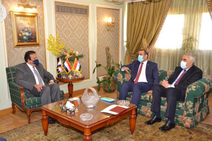 At the head of a high ministerial and governmental delegation ... the Minister of Planning arrives in Cairo to activate the agreements and projects emanating from the Iraqi-Egyptian-Jordanian Coordination Council. 160762471975c09ea34f141a98761dbadea1d8332c--%D9%88%D8%B2%D9%8A%D8%B1_%D8%A7%D9%84%D8%AA%D8%B9%D9%84%D9%8A%D9%85_%D8%A7%D9%84%D8%B9%D8%A7%D9%84%D9%8A