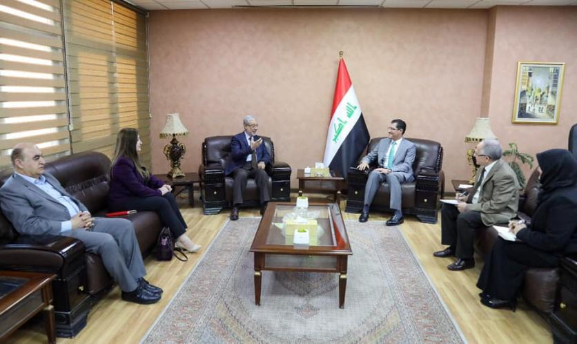 Minister of Planning chairs the first meeting of the Joint Executive Committee for Recovery, Reconstruction and Development in Iraq 1552540049c5b3753f2844a7976b9df13f74bbeb91--%D8%A8%D8%B4%D9%8A%D8%B1_%D8%A7%D9%84%D8%AD%D8%AF%D8%A7%D8%AF
