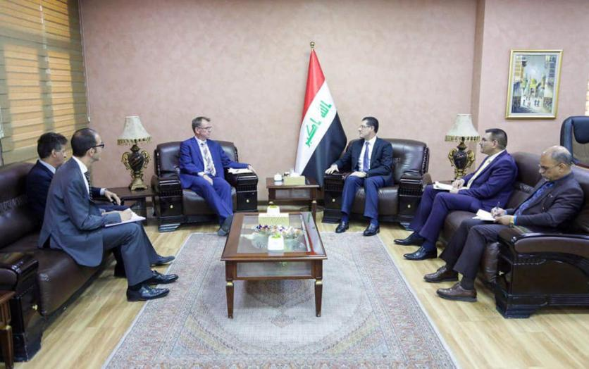 Minister of Planning receives new Ambassador of the Federal Republic of Germany to Iraq 1566559491ca77e28692043f0b4b69ce982a8e6826--%D8%B3%D9%81%D9%8A%D8%B1_%D8%A7%D9%84%D9%85%D8%A7%D9%86%D9%8A%D8%A7_%D8%A7%D9%84%D8%A7%D8%AA%D8%AD%D8%A7%D8%AF%D9%8A%D8%A9