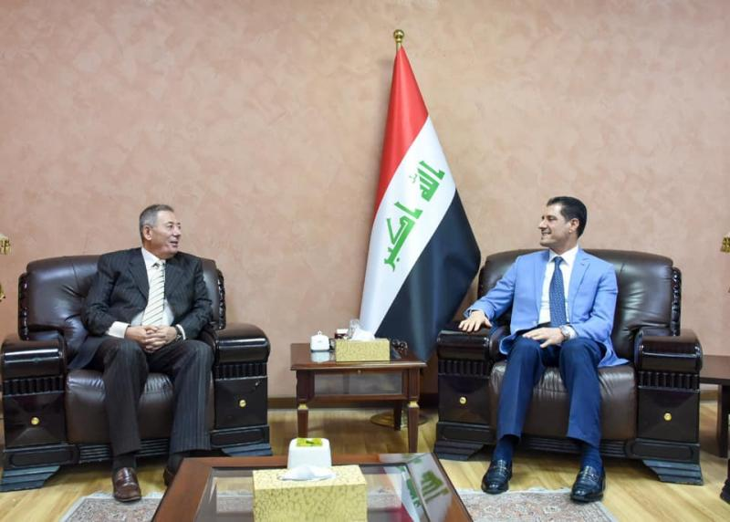 The Minister of Planning discusses with the Jordanian Ambassador ways of enhancing joint relations between the two brotherly countries 1566853319575f2697d76234c7aa349fc0c1392147--%D8%A7%D9%84%D8%B3%D9%81%D9%8A%D8%B1_%D8%A7%D9%84%D8%A7%D8%B1%D8%AF%D9%86%D9%8A