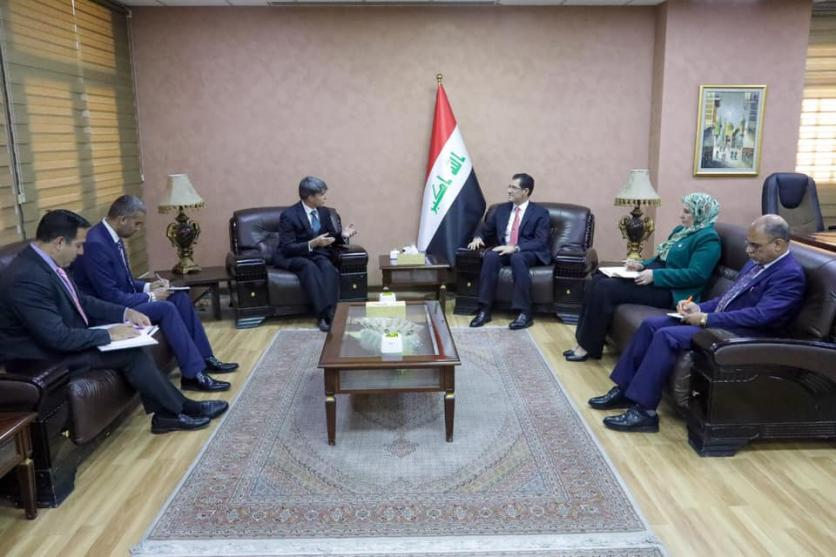 Head of US Department Meets Deputy Head of Mission at US Embassy in Baghdad 1569867573afc7354108f100fd7380121ec1cf2999--%D8%A8%D8%B9%D8%AB%D8%A9_%D8%A7%D9%85%D8%B1%D9%8A%D9%83%D9%8A%D8%A9