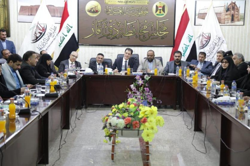 Commissioned by the Prime Minister ... Minister of Planning arrives in the province of Dhi Qar to receive the demands of demonstrators and see the reality of service in the province 1571680409965c0e6441d86bcdbff03b66a5bd445e--%D8%B0%D9%8A_%D9%82%D8%A7%D8%B11