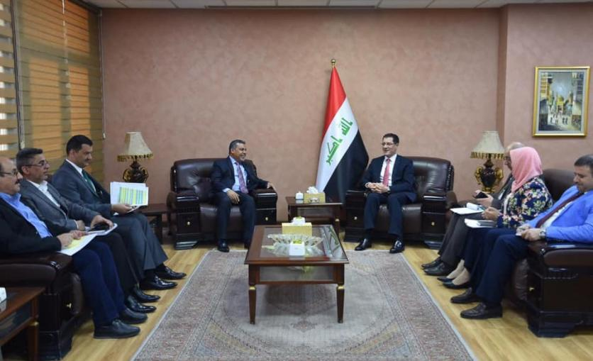 The Minister of Planning discusses with the local government of Baghdad the resumption of stalled and lagging projects and the implementation of a number of new vital projects 15746715872d8560b325b2b2c0499c700b4e51cca0--%D9%85%D8%AD%D8%A7%D9%81%D8%B8_%D8%A8%D8%BA%D8%AF%D8%A7%D8%AF