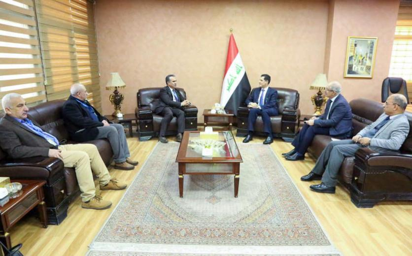 Minister of Planning discusses ways to improve the agricultural situation in Iraq with the Food and Agriculture Organization of the United Nations (FAO) 1579153845eb9c0d3818d0568b680557ceb78e4143--fao