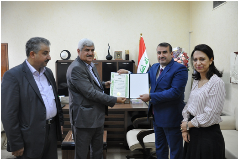 The head of the Standardization and Quality Control Authority gives the Iraqi quality mark for the ordinary cement product 156256242181c6c43c5576cf430322b773068881e2--%D8%A7%D9%84%D8%A7%D8%B3%D9%85%D9%86%D8%AA