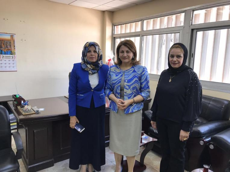 Deputy Talabani discusses with the Director General of the Department of Human Development ways to support and empower women ... 15650710066b06fcc942f87b09c9df35d891700dc0--photo_2019-08-06_08-15-05